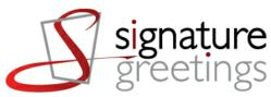 This is the Logo for Signature Greetings